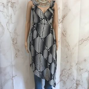 Diane Von Furstenberg Silk Wrap Dress
